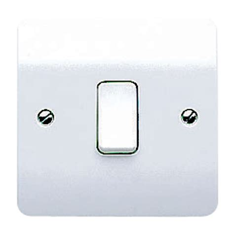 mk 10a 2 way single white gloss intermediate switch