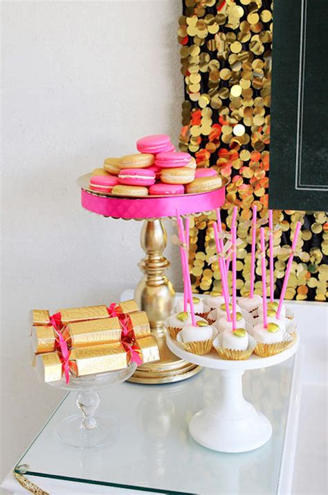 pink and gold birthday themes pink gold birthday decor b a s