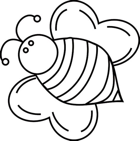 bee coloring page bees coloring pages