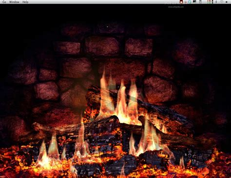 Animated Log Wallpaper - fireplace wallpaper animated wallpaper animated