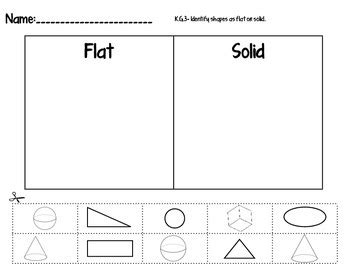 kindergarten geometry 2d and 3d shapes common activities and assessments