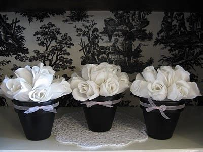 black and white party table centerpieces donna gigica andando aqui e ali 51 topiaria de flores