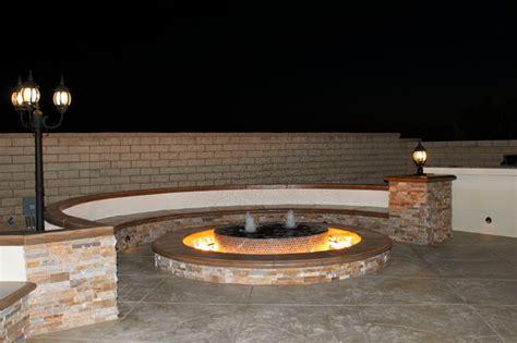 pit water contemporary patio los