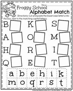 Back to School Kindergarten Worksheets Planning Playtime