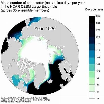 Warming Global Arctic Map Humans Climate Change