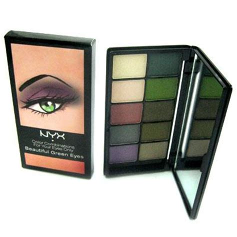 nyx eyeshadow palette  colour beautiful green eyes buy