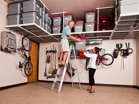 overhead garage storage systems garage overhead storage systems