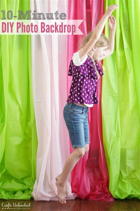 diy photo backdrop quick easy crafts unleashed