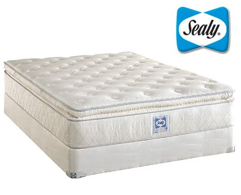 sealy bed sealy plush pillow top innerspring mattress sealy