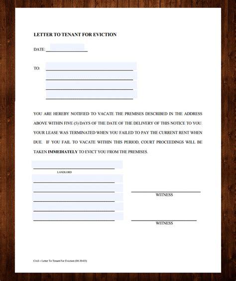 eviction notice templates   designyep