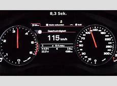 Audi A6 Limousine 20 TDI 177 PS 0100 kmh Acceleration