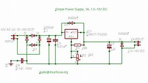 Linuxfocus Org  Simple Dc Power Supply For Your Lab