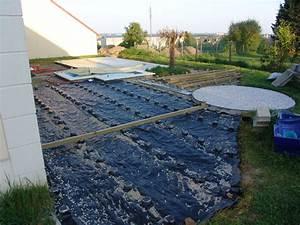 forum terrasse composite maison design wibliacom With maison bois sur plots 4 terrasse composite sur ancienne terrasse paves autobloquants