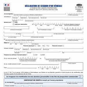 Déclaration D Achat De Véhicule : certificat de vente ~ Medecine-chirurgie-esthetiques.com Avis de Voitures