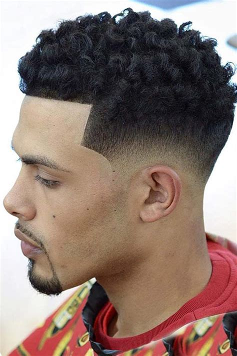 awesome examples  curly hair fade   mens hairstyles haircuts