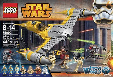 Lego Star Wars 'naboo Starfighter Set 75092 Toysworld