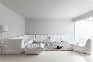 Canapé Ultra Moelleux : maison de ville l am nagement int rieur en blanc ~ Teatrodelosmanantiales.com Idées de Décoration