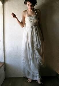 silk wedding dress alternative gown long silk dress With organic wedding dress