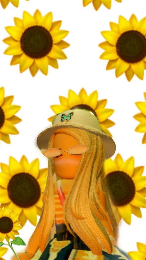 roblox sunflower aesthetic wallpapers