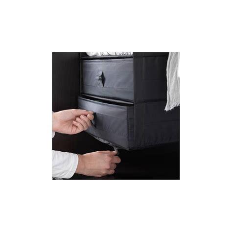Contenitori Per Guardaroba by Ikea Skubb Contenitore Scatola Con Scomparti Nero Per