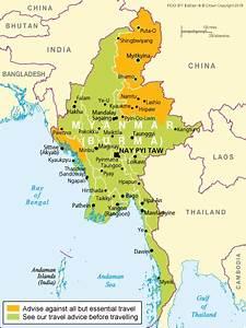 Maps Of Myanmar Burma C Detailed Map Of Myanmar In English