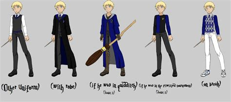 Harry Potter Oc Roland's School Outfits By