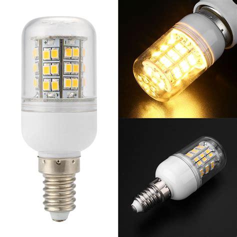 e12 e14 e26 e27 g9 gu10 110v 7w corn smd led bulb 500lm bar light warm white ebay