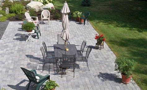 shale patio granite benches and bird baths central maine mackenzie landscaping inc winslow maine