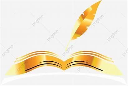 Open Golden Cartoon Books Livre Clipart Illustrator