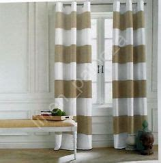 hilfiger curtains cabana stripe hillcrest stripe window curtains set of 2 panels 52 x 96