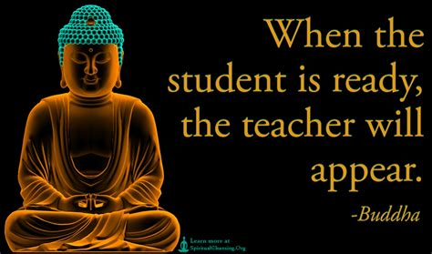 When The Student Is Ready, The Teacher Will Appear