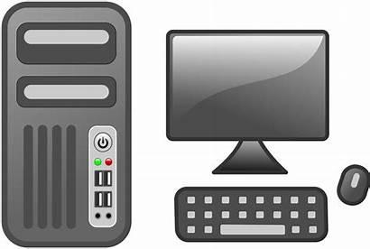 Computer Transparent Clipart Clip Background Desktop Pc