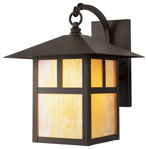 montclair mission outdoor wall lantern bronze asian