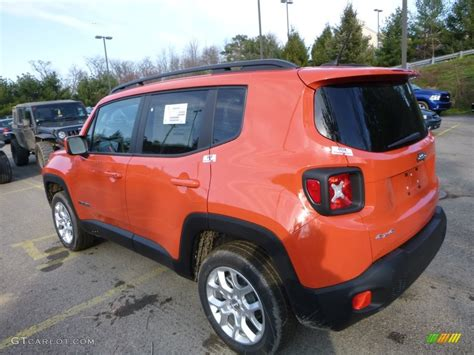 jeep renegade trailhawk orange omaha orange 2016 jeep renegade latitude 4x4 exterior
