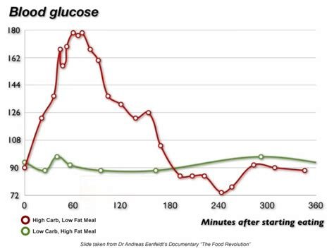 blood glucose levels chart meal diabetes