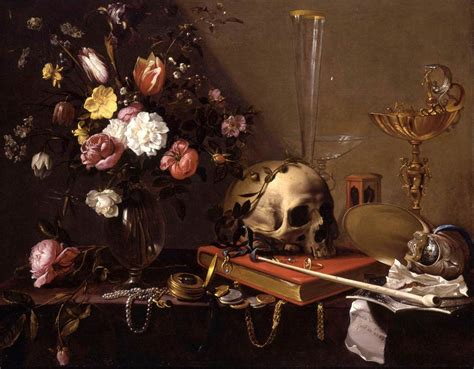 La Vanité by The Futility Of All An Introduction To Vanitas