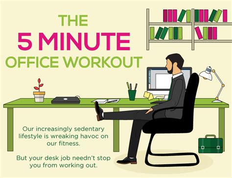 desk exercises at work 5 minute exercise at work