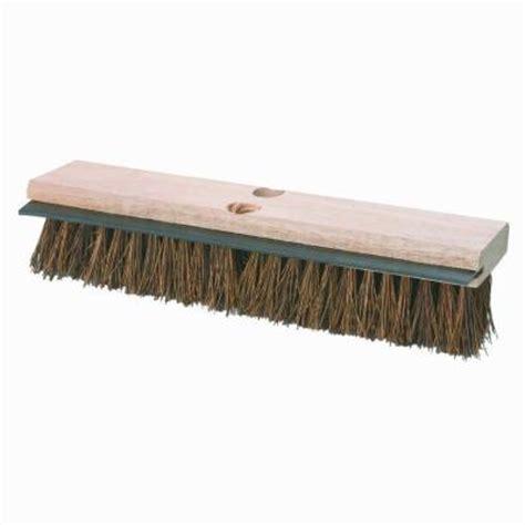 carlisle 14 in palmyra with squeegee deck scrub brush