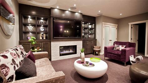 contemporary windowless living rooms home design lover