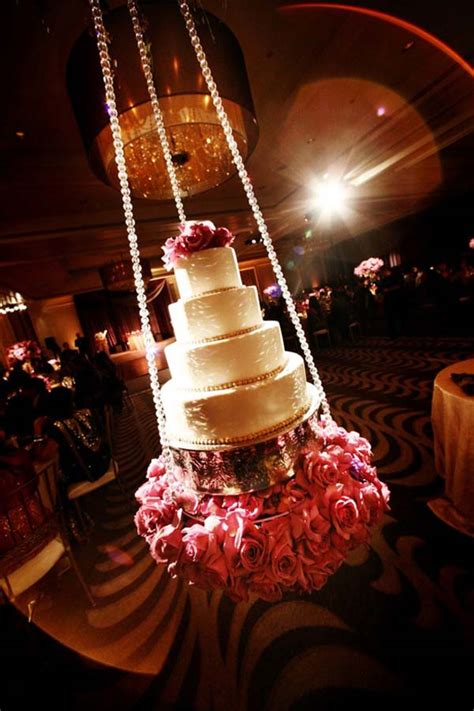 Things To Hang From Ceiling by Interesting Ways To Display Cut Present Your Wedding Cake