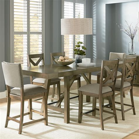 high top dining room table with leaf countertop dining room sets best home design 2018