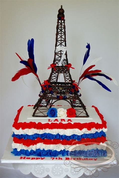 laras french inspired birthday cakecentralcom