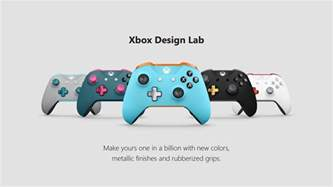 controller design xbox design lab adds more customization options and expands to more countries xbox wire