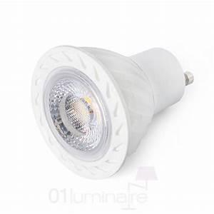 Ampoule Led Dimmable Gu10 : ampoule led gu10 8w 2700k blanc 450lm 38 dimmable 17318 faro ~ Edinachiropracticcenter.com Idées de Décoration