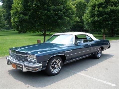 Buick Lesabre Convertible For Sale by Find Used 1975 Buick Lesabre Custom Convertible Quot Survivor