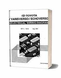 Toyota Yaris Echo Verso 1999 Electrical Wiring Diagram