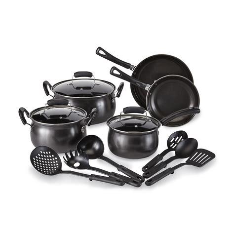 cookware nonstick steel carbon essential piece amazon lifetime kitchen pans pots sets warranty kitchenware sears kmart specifications description inch