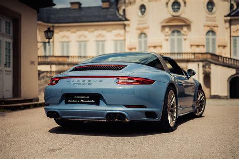 2017 Porsche 911 Targa 4s Exclusive Design