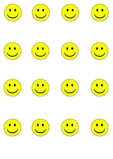 yellow smiley face templates printable