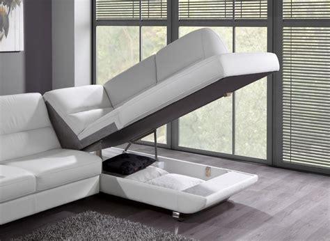 canap d angle avec rangement photos canapé d 39 angle cuir convertible avec coffre de